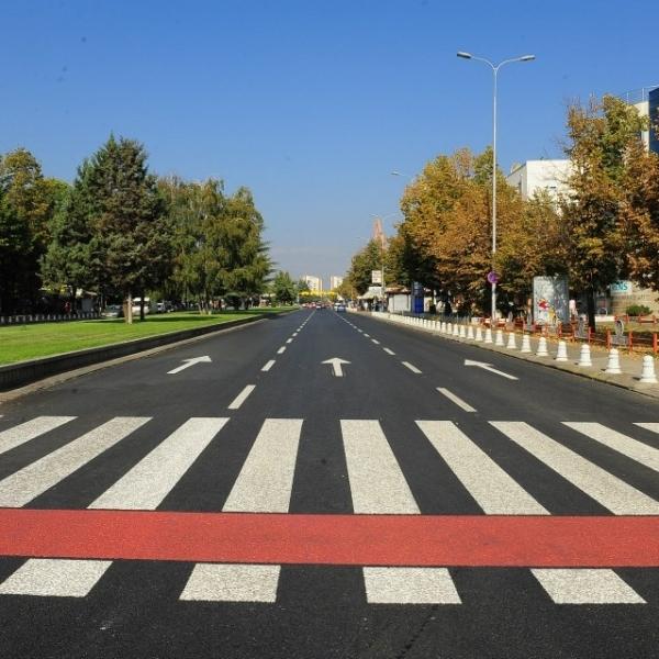 Улично осветлување во Скопје